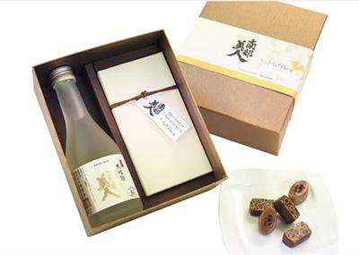日本酒のチョコレート「南部美人」