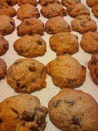 チョコレートチップクッキーのレシピ01