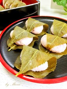 桜餅 道明寺 手作り01