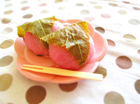 残りご飯の桜餅レシピ
