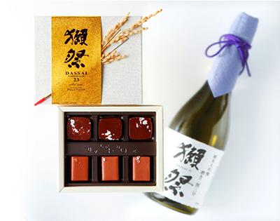 2018年獺祭ショコラ(高島屋)