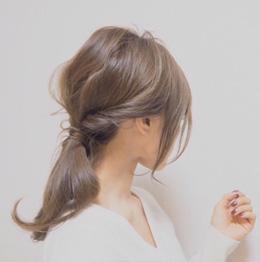 田中亜希子さん ママブロガー ヘアアレンジ 1
