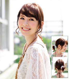 アラフォーまとめ髪リゾート編01