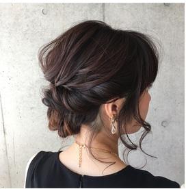 40代アラフォー結婚式 髪型01