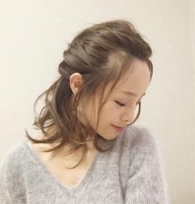 30代40代ヘアアレンジ田中亜希子さん01