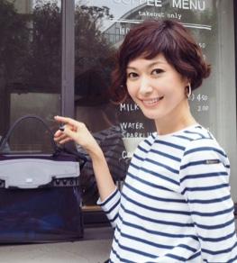 ショートバング・タレント&女優&モデル01