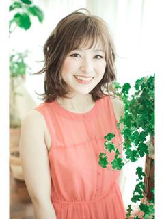 アラフォー髪型ミディアム07