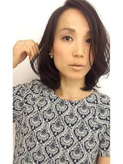 アラフォー髪型ミディアム10