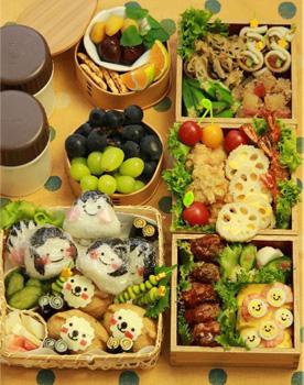 料理研究家の運動会のお弁当01