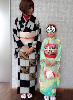 七五三母親の服装「ママタレント編」01