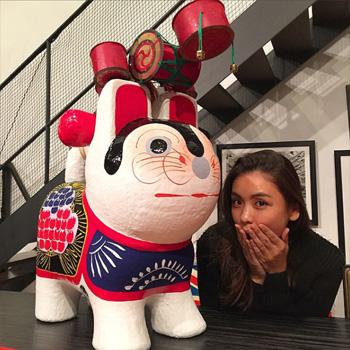 おしゃれなお正月のお飾り07いせ辰犬張子