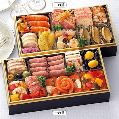 シェ・松尾洋風おせち料理2段重