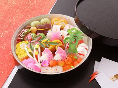 2019スイーツおせち和菓子「高野貞広」