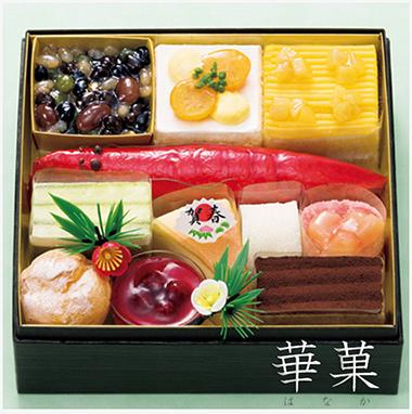 2019スイーツおせち和菓子「イオン華菓」