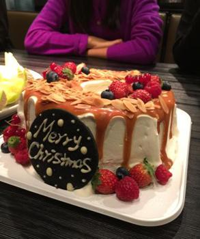 マーサービスエビスクリスマスケーキ