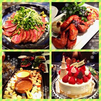 滝沢さんクリスマスディナー