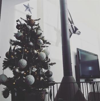 滝沢眞規子さんクリスマスツリー2016