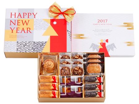 2017干支モチーフのお年賀のお菓子