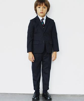 「グリーンレーベル」入学式 スーツ01