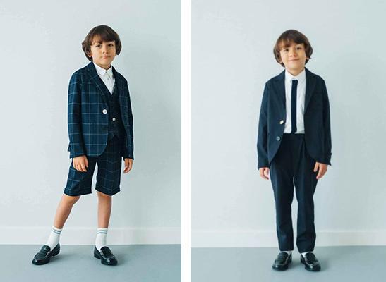 こどもビームスの男の子の入学式スーツ04