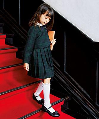 グリーンレーベルの女の子の入学式スーツ03
