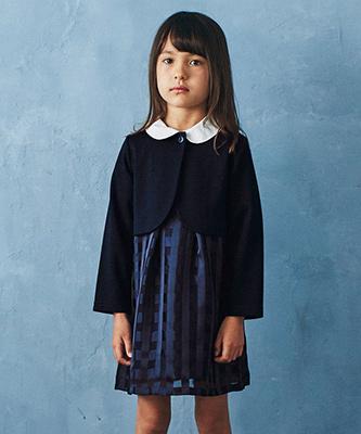 グリーンレーベルの女の子の入学式スーツ04