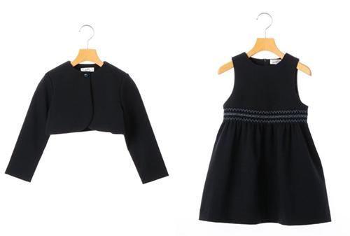 シップスキッズの女の子の入学式スーツ01