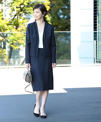 「ビームス」スーツ01