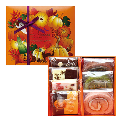 ハロウィンの手土産限定洋菓子「ラメゾン白金」
