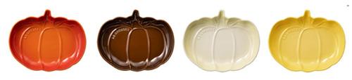 ハロウィンにかぼちゃのテーブルウェア「ル・クルーゼ ディッシュ」