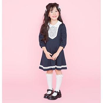 入学式の女の子のワンピース「メゾピアノ」03