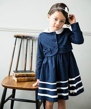 入学式の女の子のスーツ「タルティーヌエショコラ」01