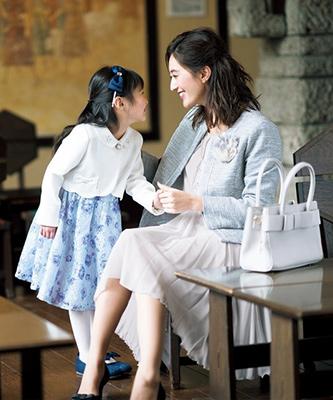 入学式スーツ女の子のブランド「エニィファム」2