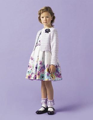 入学式スーツ女の子のブランド「アナスイミニ」1