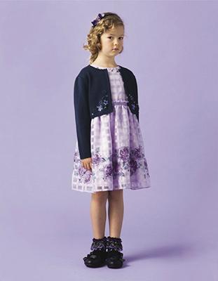 入学式スーツ女の子のブランド「アナスイミニ」2