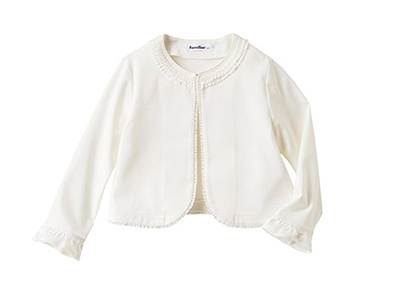 入学式スーツ女の子のブランド「ファミリア」1