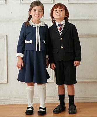 入学式スーツ女の子のブランド「ハッシュアッシュ」2