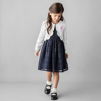 入学式スーツ女の子のブランド「プチマイン」2