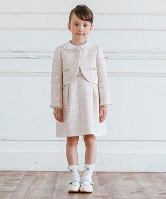 入学式スーツ女の子のブランド「TOCCA」1