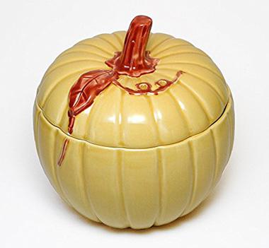 ハロウィンのかぼちゃの食器(ポルトガル)