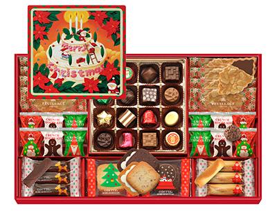 クリスマスの手土産のお菓子「モロゾフ」