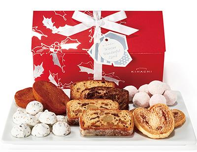 クリスマスの手土産のお菓子「キハチ」