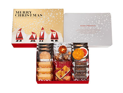 クリスマスの手土産のお菓子「グラマシーニューヨーク」
