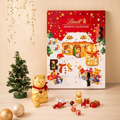 2018クリスマスアドベントカレンダー「リンツ」