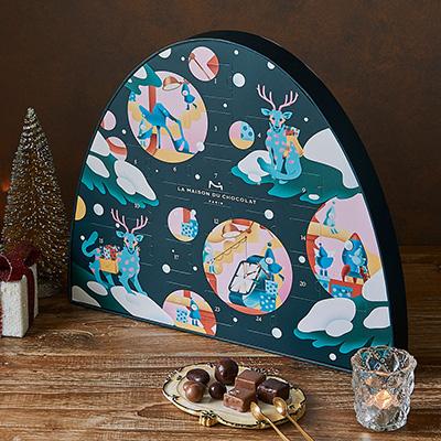 2018クリスマスアドベントカレンダー「メゾンドショコラ」