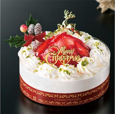 クリスマス 人気のショートケーキ「アルデュール」