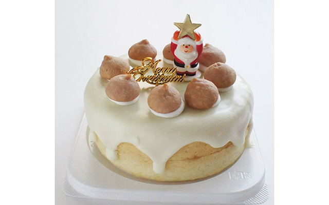 クリスマス 人気のショートケーキ「おこめのおかし屋さん」