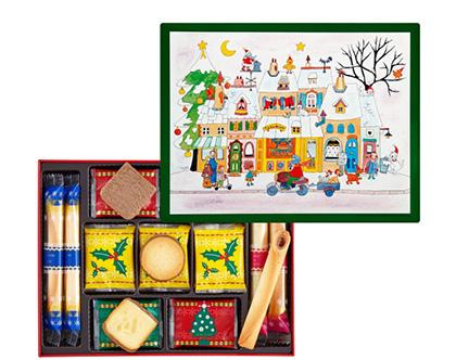 クリスマスの手土産のお菓子「ヨックモック」」