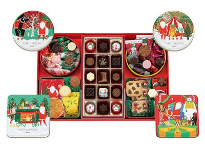 クリスマスの手土産のお菓子「ゴンチャロフ」