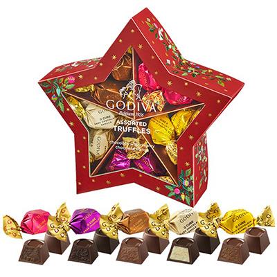 クリスマスの手土産のお菓子「ゴディバ」